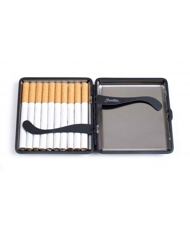 Портсигар Passatore на 20 сигарет, Карбон