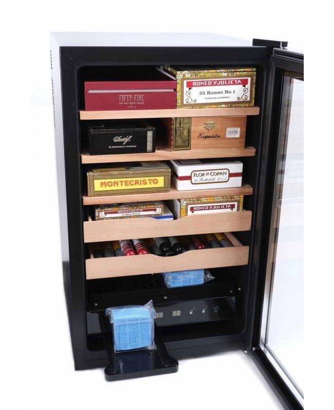 Хьюмидор-холодильник Howard Miller с электронным блоком управления влажностью на 500 сигар