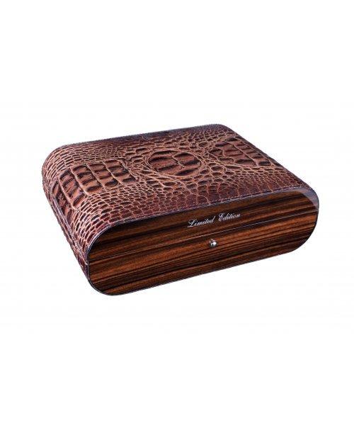 Хьюмидор Gentili Croco Brown на 15 сигар Limited Edition