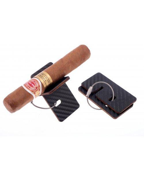 Подставка Passatore для сигары складная, Карбон