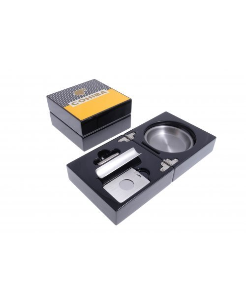 Пепельница сигарная Tom River с набором, Cohiba