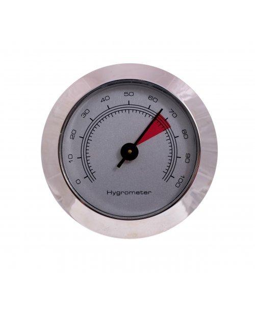 Гигрометр механический 49 мм, серебро