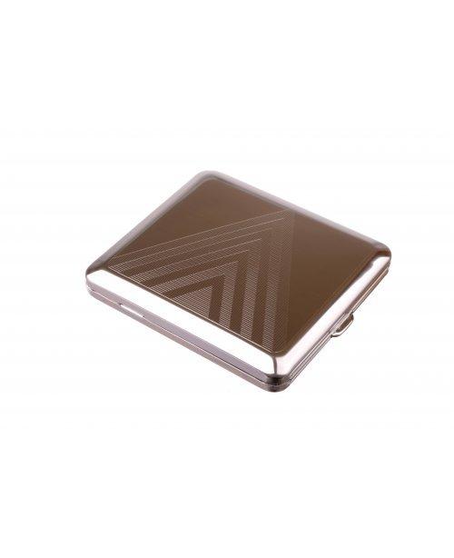 Портсигар Stoll на 18 сигарет, металл
