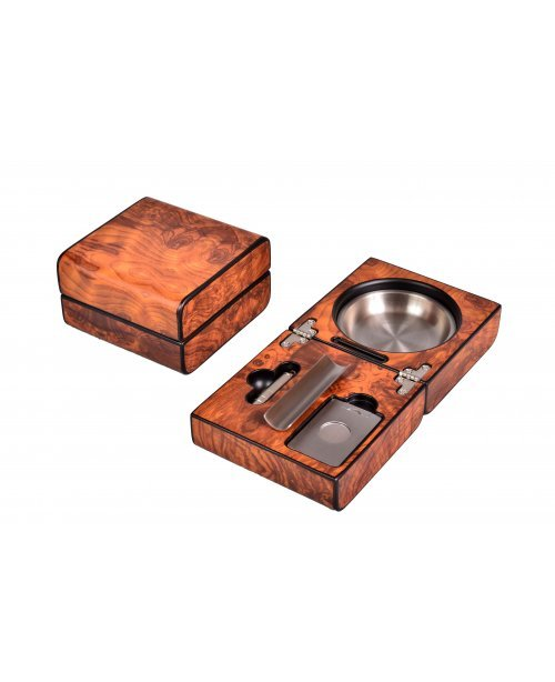 Пепельница сигарная Lubinski с набором, Вяз
